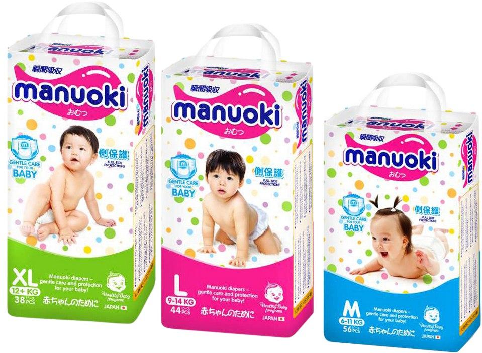 Новинка - Manuoki - японские подгузники-трусики