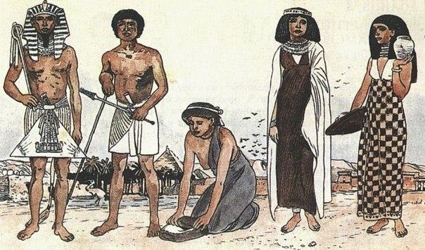 Мудрость фараона или как появились деньги