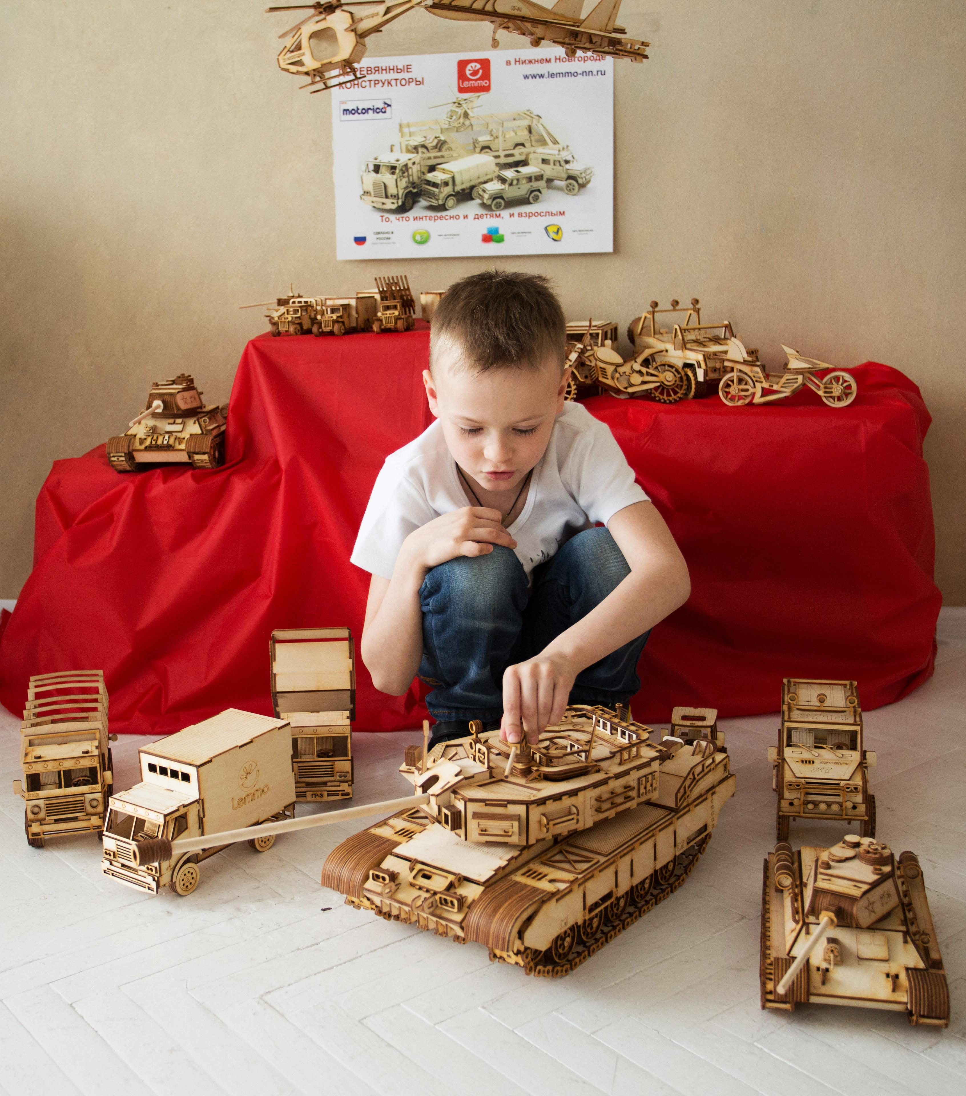 Леммо-2. Деревянный 3D- конструктор. То, что интересно и детям, и взрослым