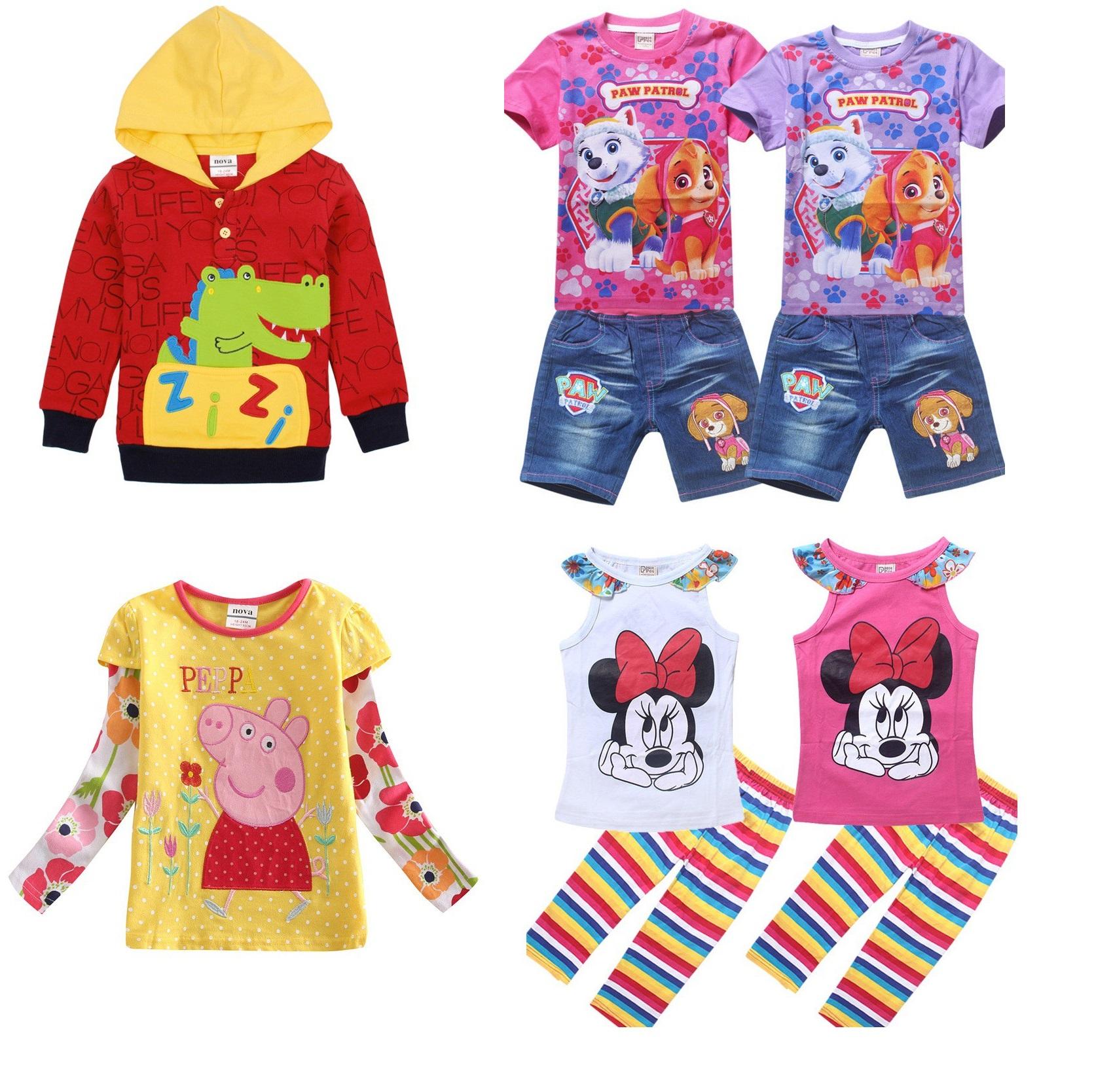 Рекомендую! Самая полная коллекция ТМ Nova! Одежда из мультиков Щенячий Патруль, Поли Робокар, свинка Пеппа. Яркая одежда для мальчиков и девочек!