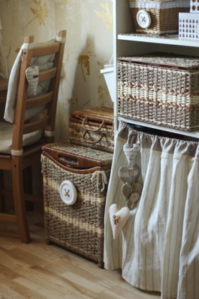 Плетеные вещички для дома, интерьера, творчества-6.