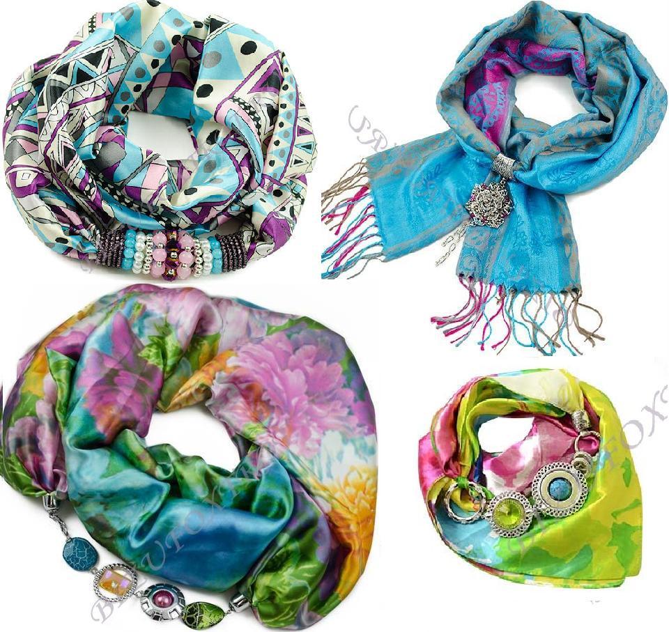 Сбор заказов.Изысканные шарфы, косынки, платки с украшениями из Чехии, а также бижутерия из чешского стекла -будьте неотразимы-12!Весенний ценопад-лови момент!