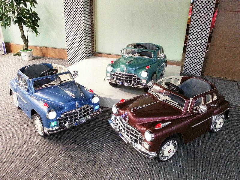 Закупка детских электромобилей River Toys и Joy Automatic.