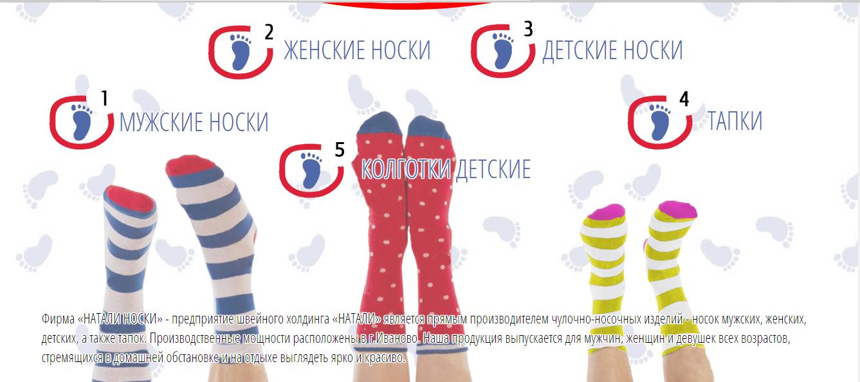 Сбор заказов. Женские , мужские и детские носки от отечественного производителя. А также есть детские колготки и тапки .