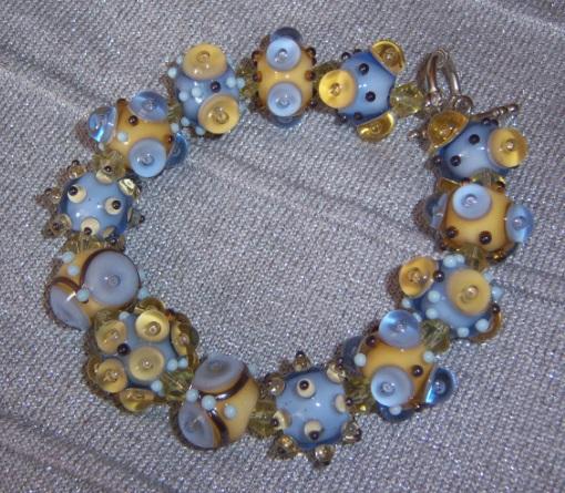 Пристрой Flower murano - бусы, браслеты, кулоны, серьги. Раздача в это воскресенье.