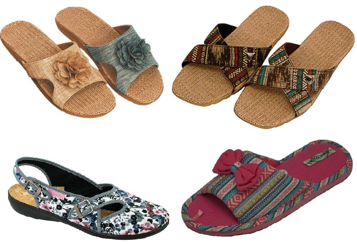 Сбор заказов.Красивая и удобная домашняя обувь для всей семьи-45. Повседневная обувь для проблемных ног Ад@некс! Море новинок!