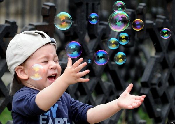 Отзывы. Шоу мыльных пузырей, Гигантские мыльные пузыри теперь по силам нашим деткам.