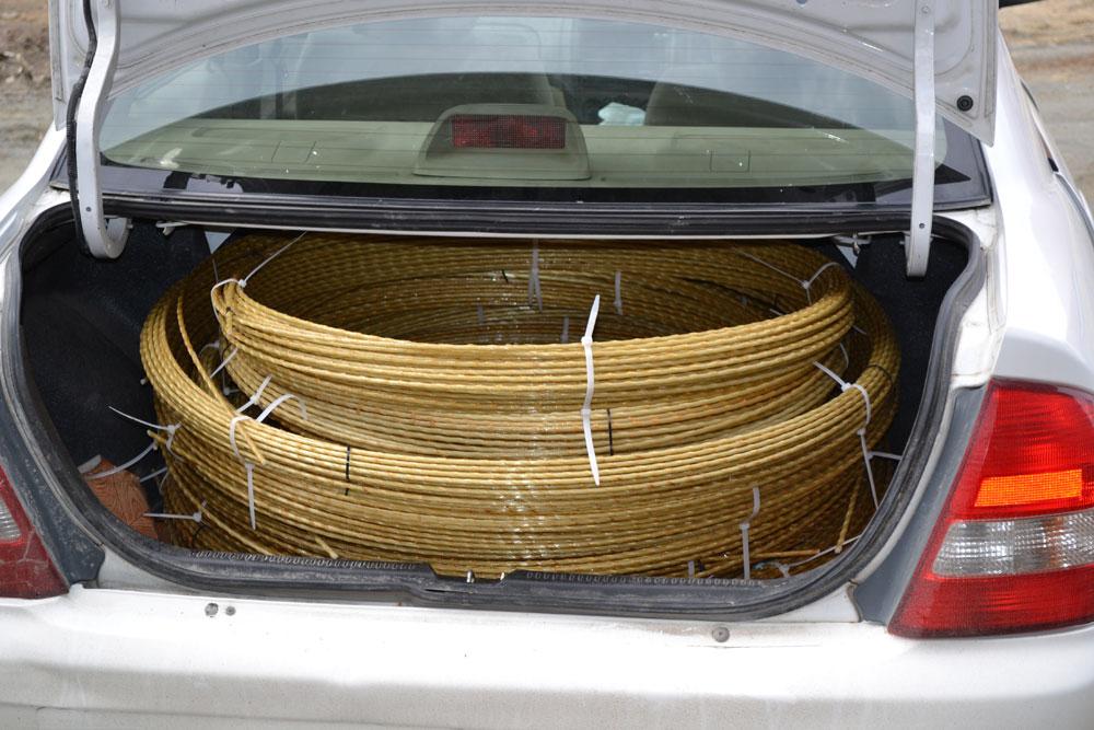 Стеклопластиковая арматура от нижегородского производителя. Для стройки, теплиц, пергол, подпор, колышков для дачи. Сбор 2.