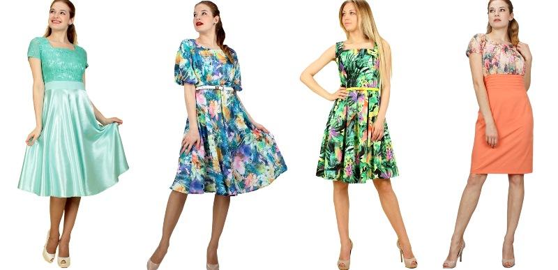 Огромный выбор платьев летние, офисные и повседневные. Есть гарантия по цвету