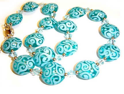 Flower murano - бусы, браслеты, кулоны, серьги.