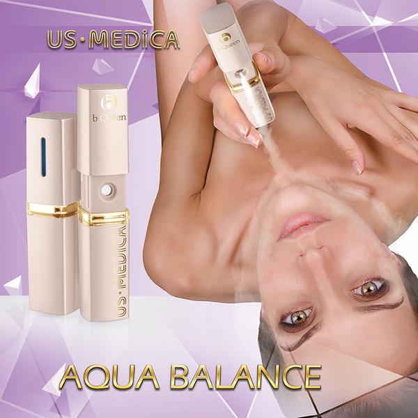Aqua Balance Компактный увлажнитель для лица.