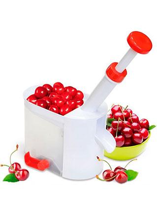 Сбор заказов. Косточко-отделитель для вишни, черешни. Автомат. Для быстрой обработки большого объема ягод. Нет грязи.