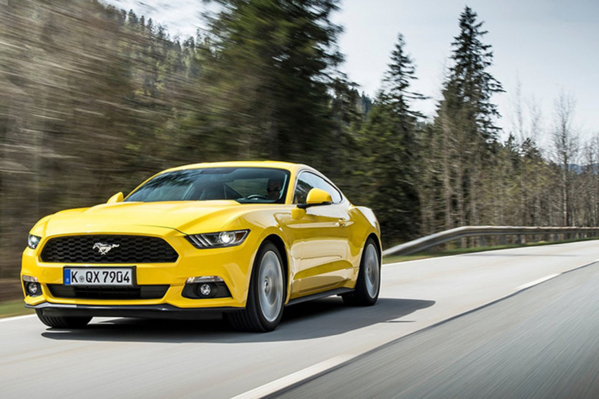 Ford Mustang ����� ����� ����������� ���������� ����������� � ���� �� ������ 2015 ����