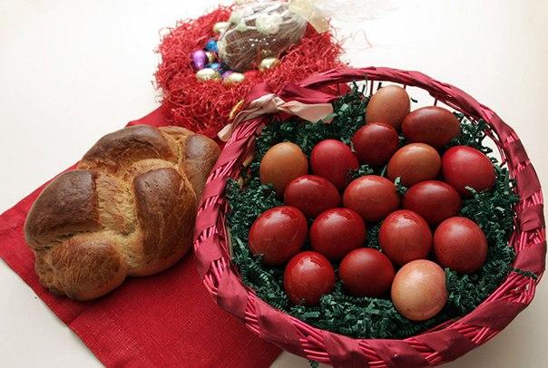 Греческая Пасха: традиционные пасхальные яйца !