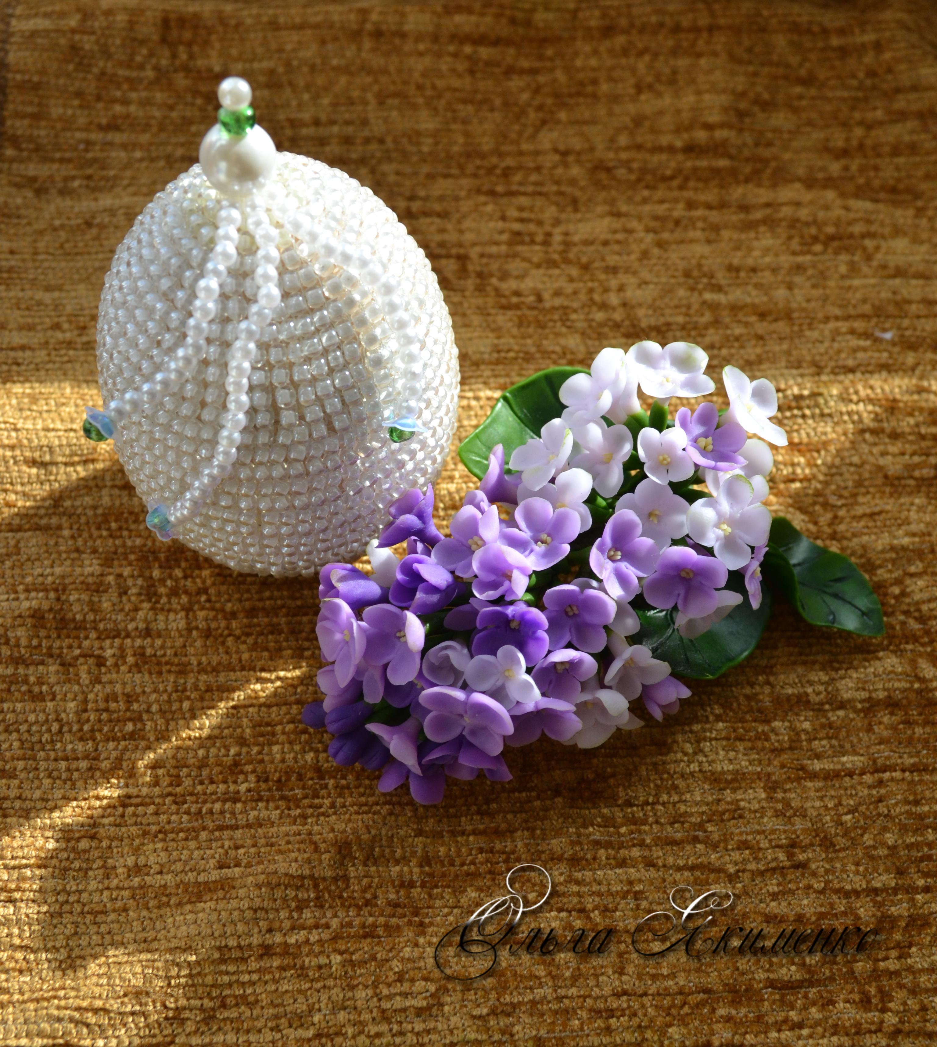 Заколки, украшения, цветочные композиции из холодного фарфора