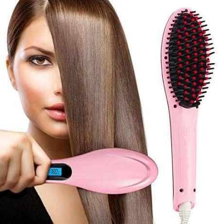 Пристрой. Расческа-выпрямитель Fast Hair Straightener с орг сбором 5 %