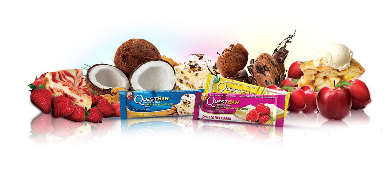 Ваше персональное лакомство протеиновые батончики Que$t B@r - это наслаждение вкусом и отличный результат!