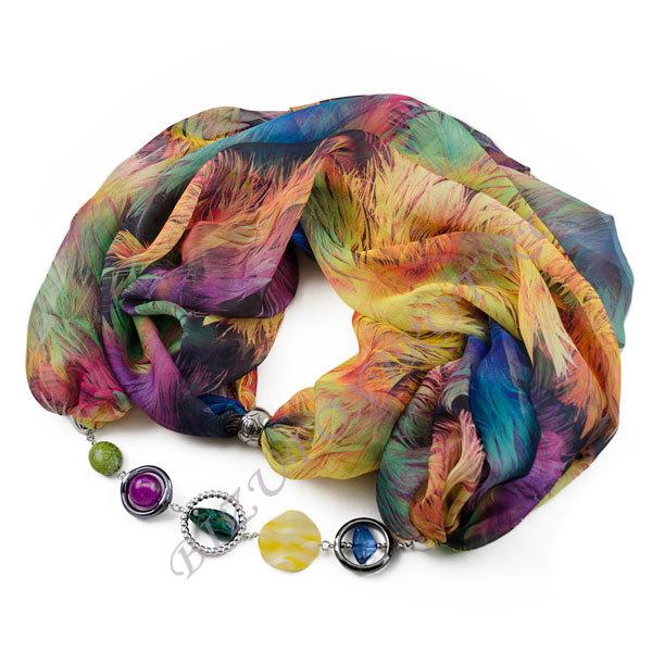 Сбор заказов.Изысканные шарфы, косынки, платки с украшениями из Чехии, а также бижутерия из чешского стекла и бисера -будьте неотразимы-13!Весенний ценопад-лови момент!