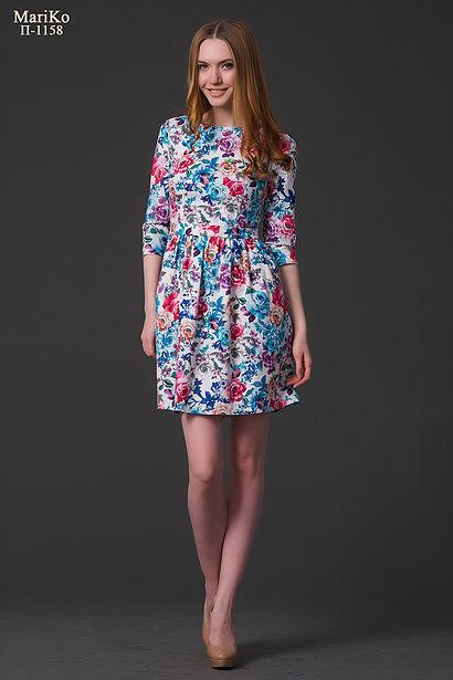 Сбор заказов. В платье от ТМ MariKo -вы всегда в центре внимания.