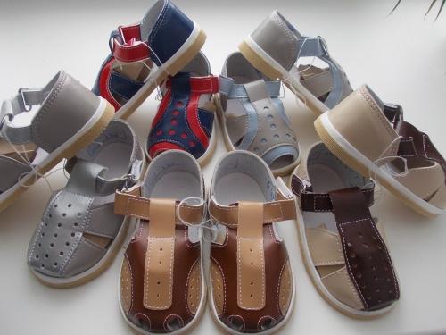 Детские сандалии от отечественных производителей. Тапочки для детей и взрослых. Эконом цены