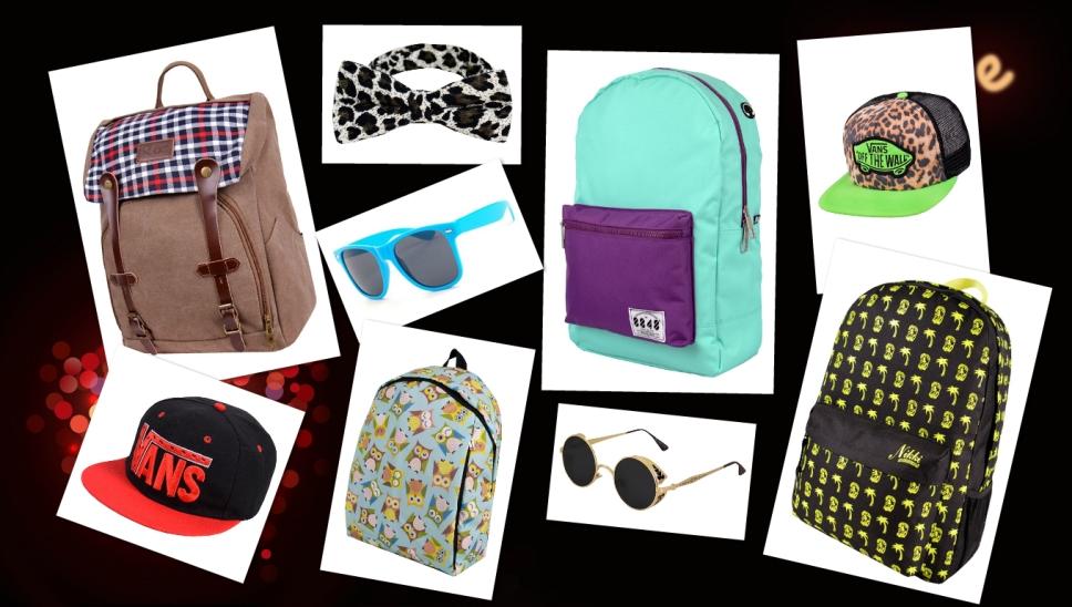 Ё-style для молодых и стильных-7! Солнечные очки, невероятных расцветок рюкзаки, яркие бейсболки, кошельки, сумки, ремни, модные носки и 325 расцветок галстуков-бабочек.