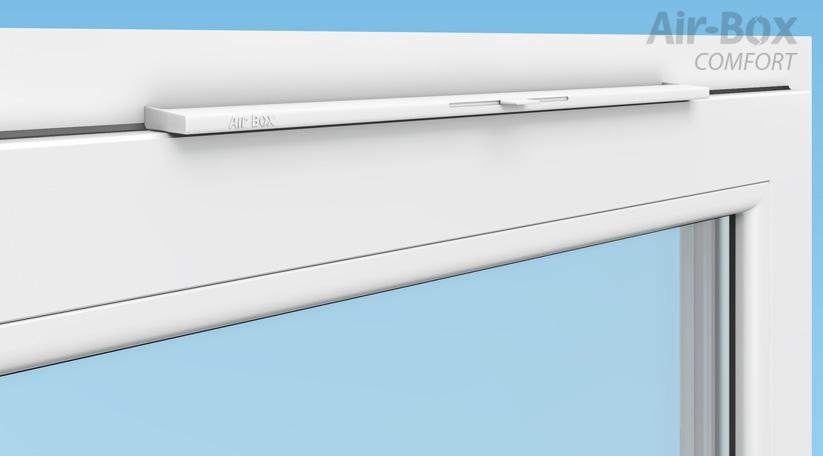 Приточные клапаны Air Box comfort