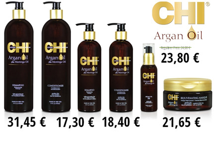 CHI Argan Oil | защита волос от УФ излучения