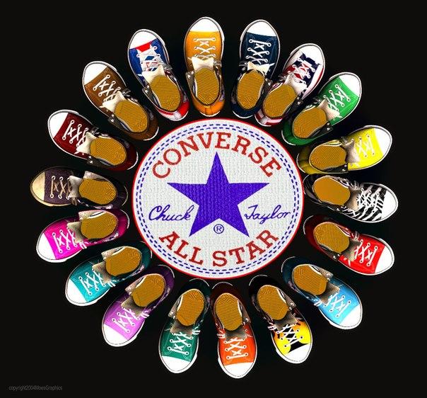 Кеды Converse - классика casual - 6. Копии