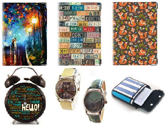 Рекомендую! Яркие подарки и стильные аксессуары: наручные и интерьерные часы, обложки на паспорт из кожи, карманные зеркальца, сумки для планшетов, полезности для дома, шоколад в оригинальных упаковках и еще множество интересных вещиц. Выкуп 7