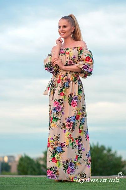 Сбор заказов. Подарите себе роскошь цветов. Дизайнерские платья от Модного Дома Северной Венеции - 3.
