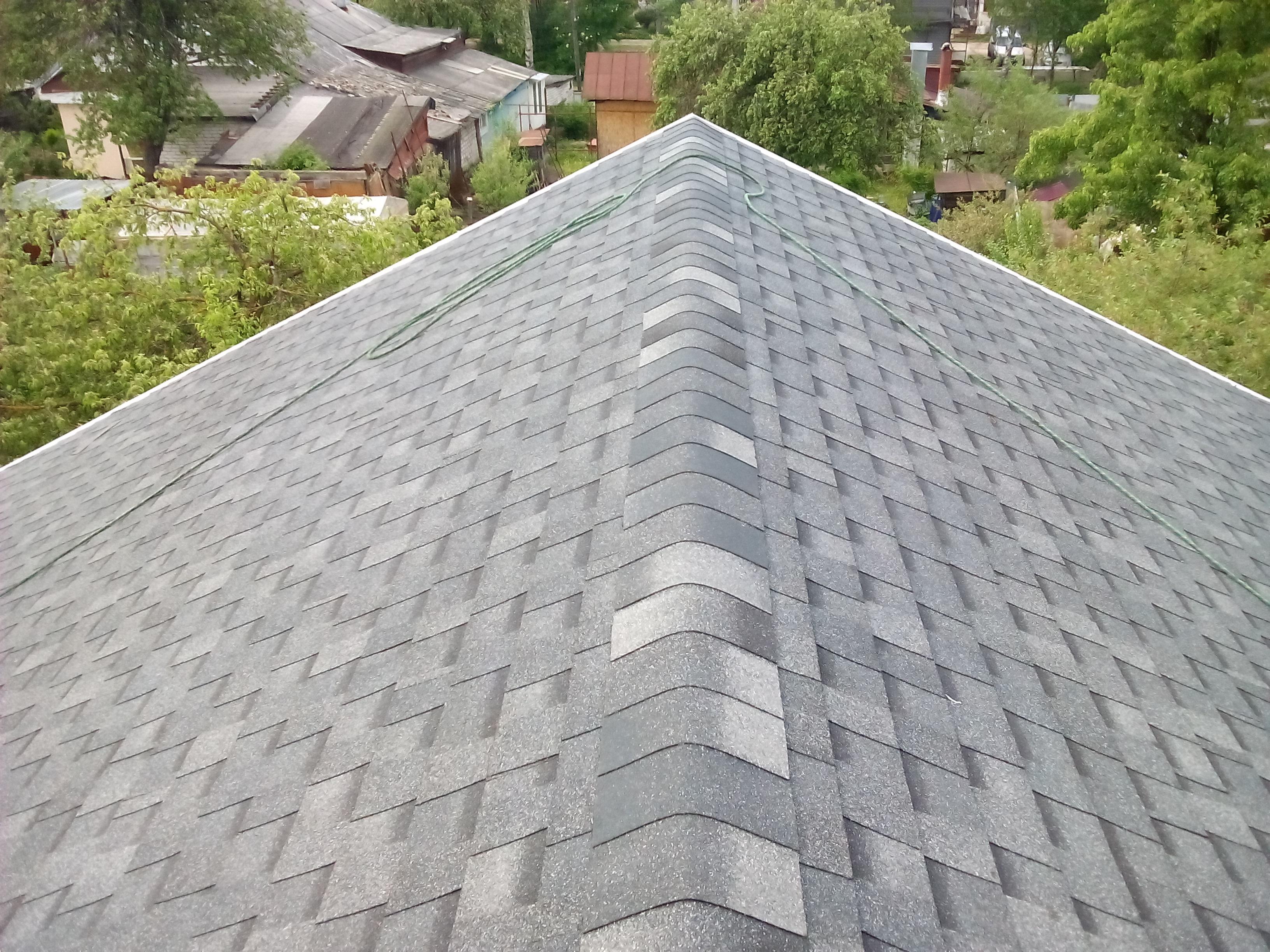 Крыша и окна