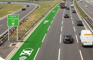 Дороги, которые заряжают электротранспорт