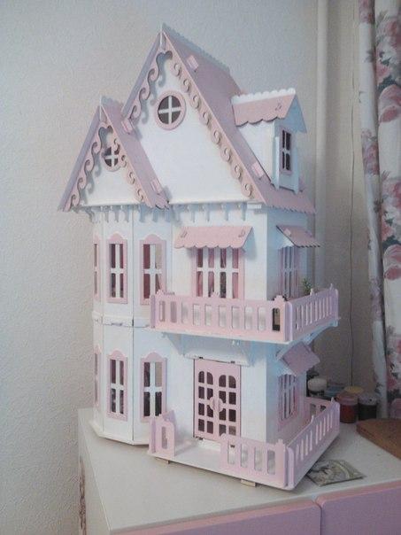 Сбор заказов. Кукольный Чудо-домик из дерева и мебель для него! Подойдет для маленьких куколок или зверюшек. Сделано в России. Доступная цена. 2 выкуп.