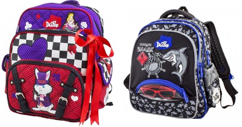 Готовимся к новому учебному году! Школьные рюкзаки и ранцы, есть с 3Д картинкой.