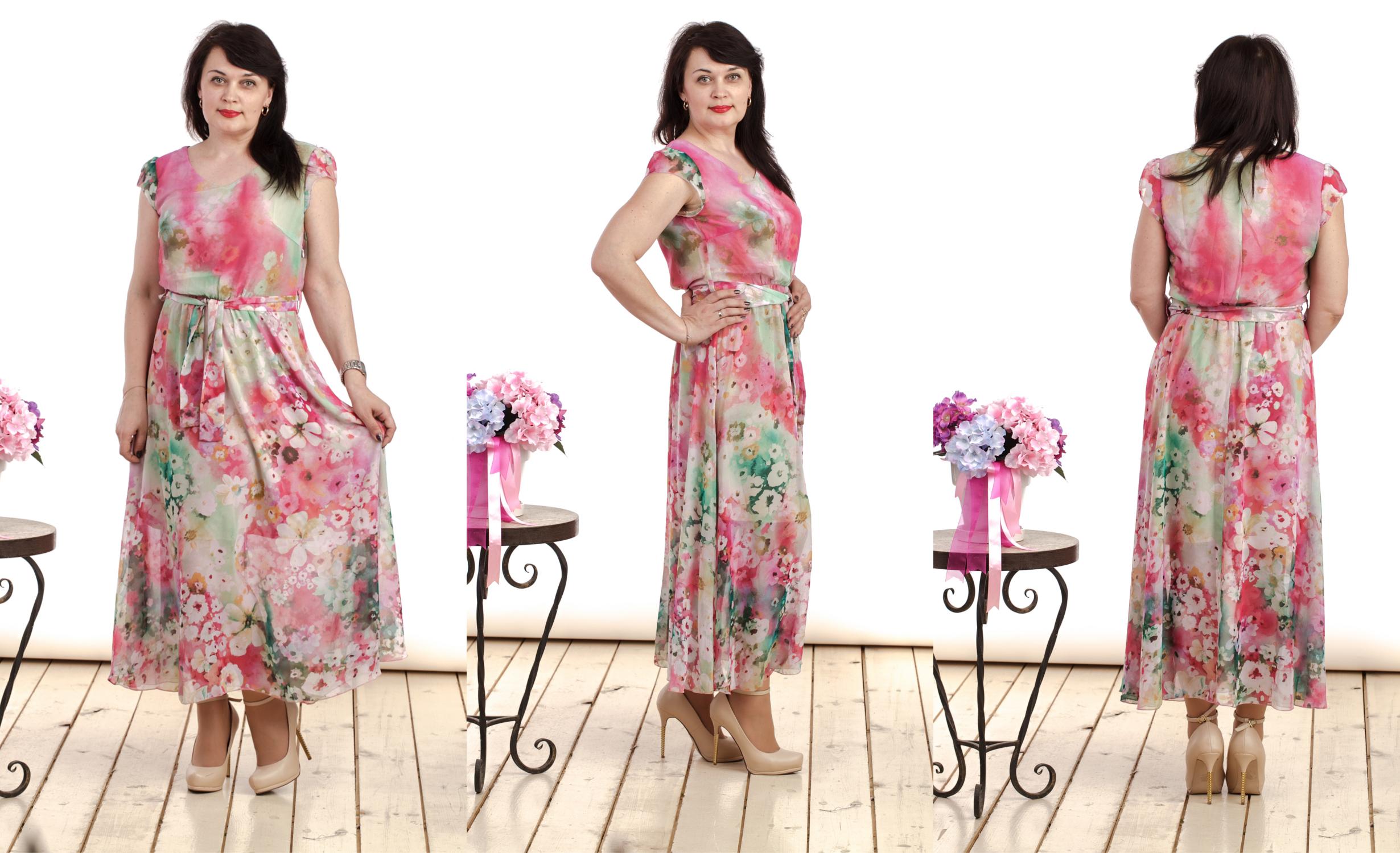 Cбор заказов. Платья, платья платья, различные модели на любую фигуру, Размеры 42-60, очень много новых моделей блузок, платьев, сарафанов, готовимся встречать лето самыми нарядными-21