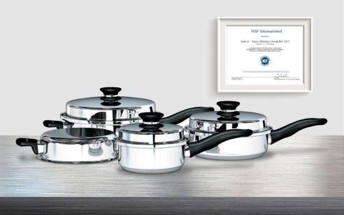Посуда iCook прошла сертификацию NSF