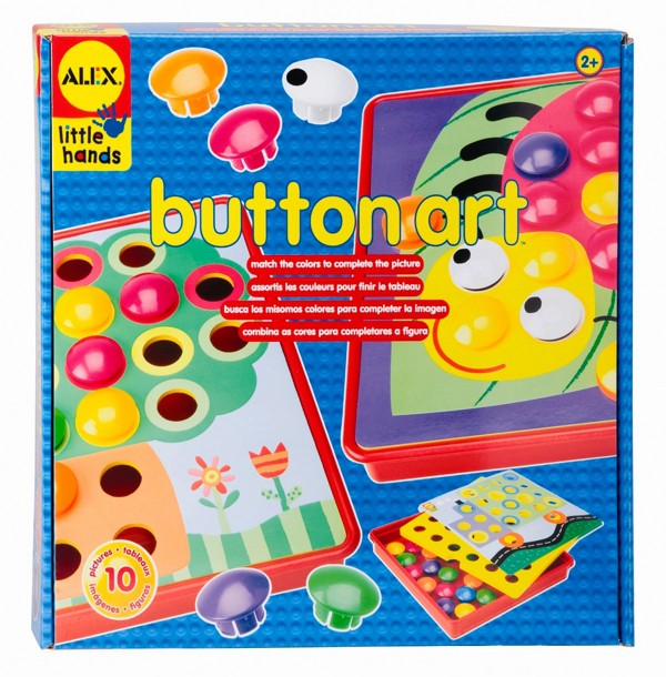 УРА! Пришла наконец то наша любимая мозаика для малышей Алекс