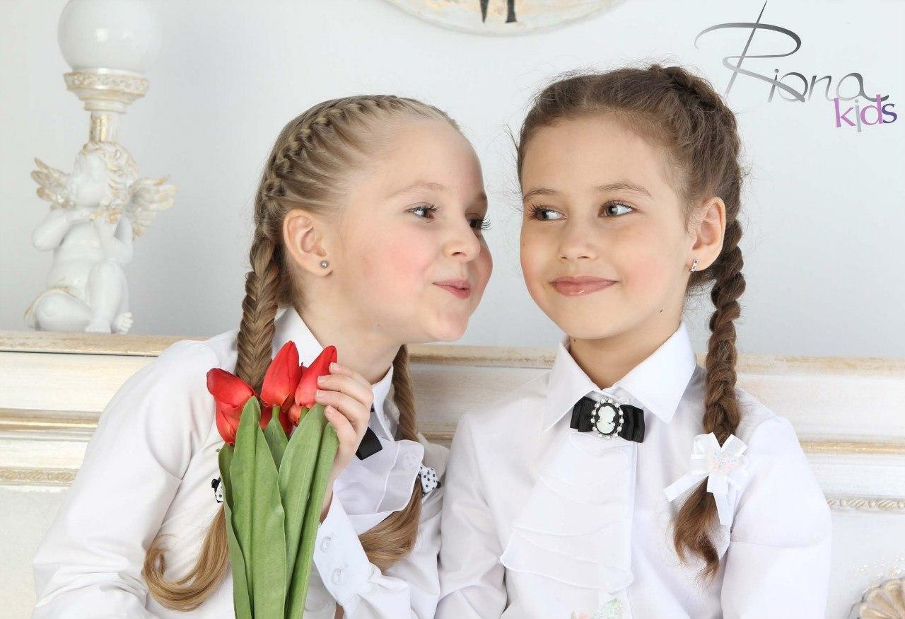 Сбор заказов. R.i.o.n.a.k.i.d.s - элегантные девочки. Школьные блузки и водолазки высшего качества, есть модели для девочек склонных к полноте. Плащи и ветровки. Без рядов!-2