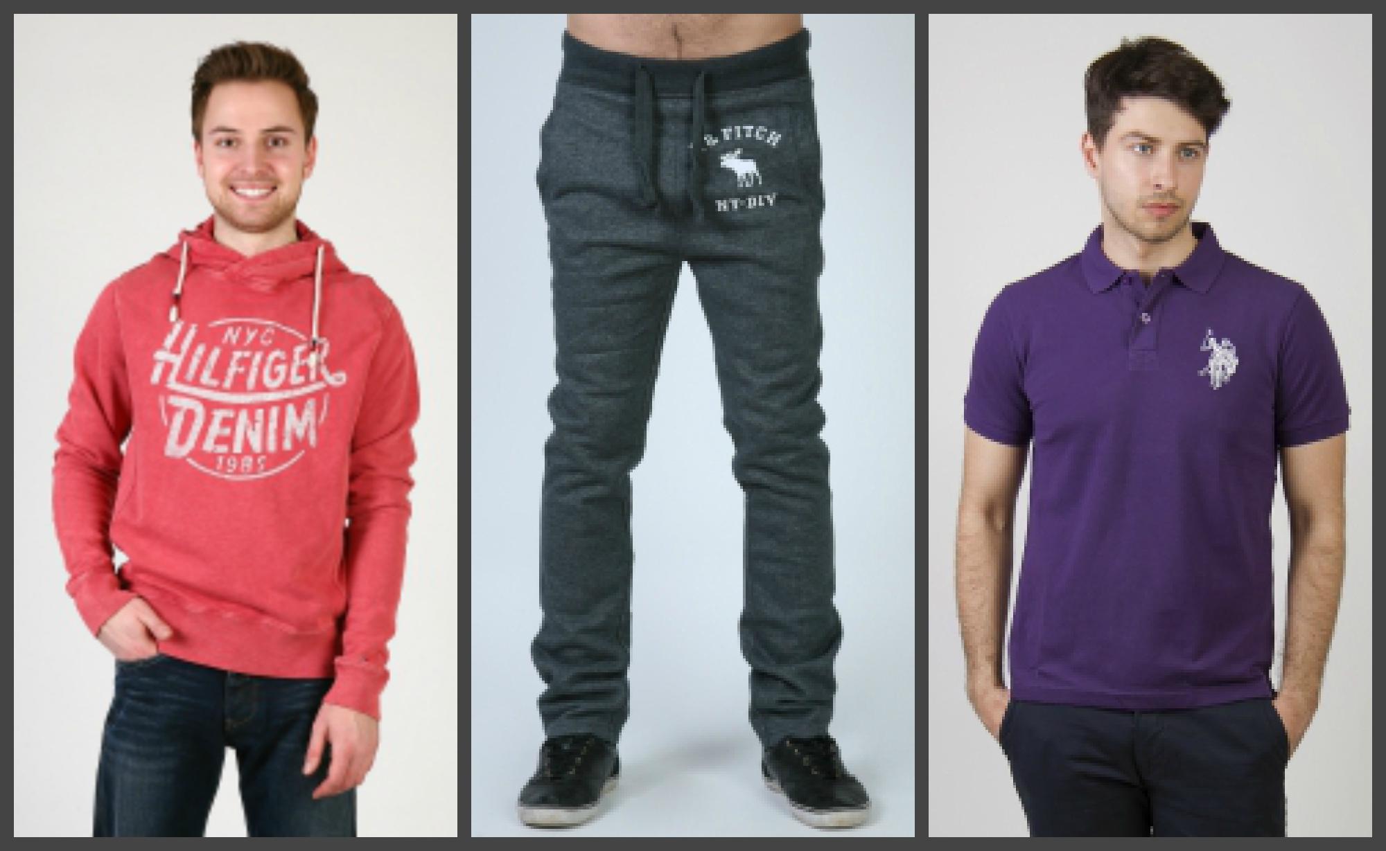 Оригинальная брендовая одежда для мужчин по stockовым ценам
