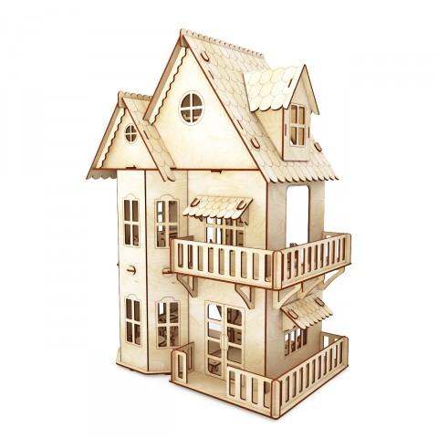 Пермская деревянная игрушка 3. Акция от производителя: Кукольные домики по себестоимости - 800 руб, наборы мебели - 120 руб!