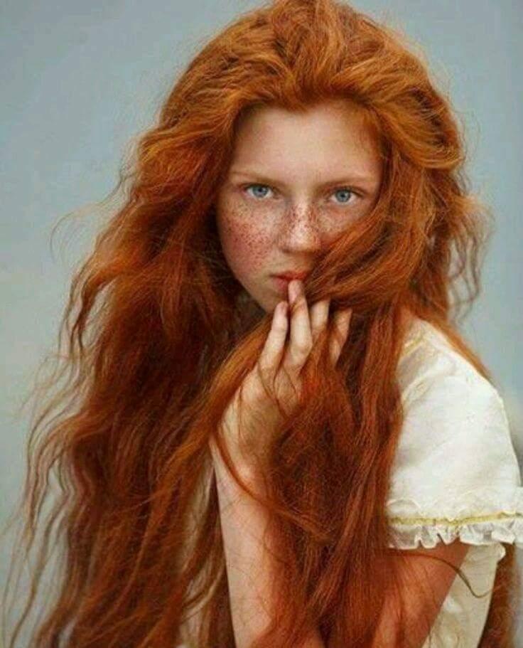 Если тебе суждено родиться рыжей, то не важно какого цвета у тебя волосы