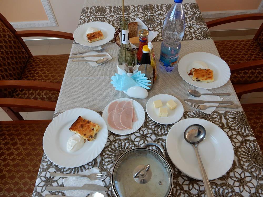 Завтрак и ужин