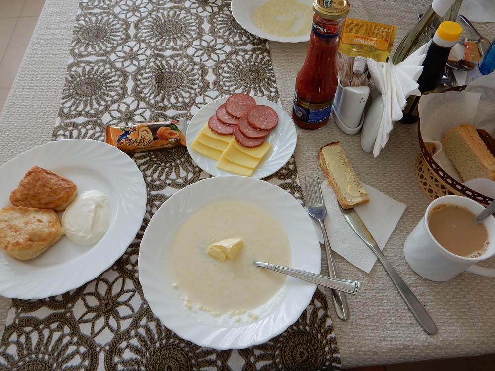 Очередной завтрак, повторений еще нет..