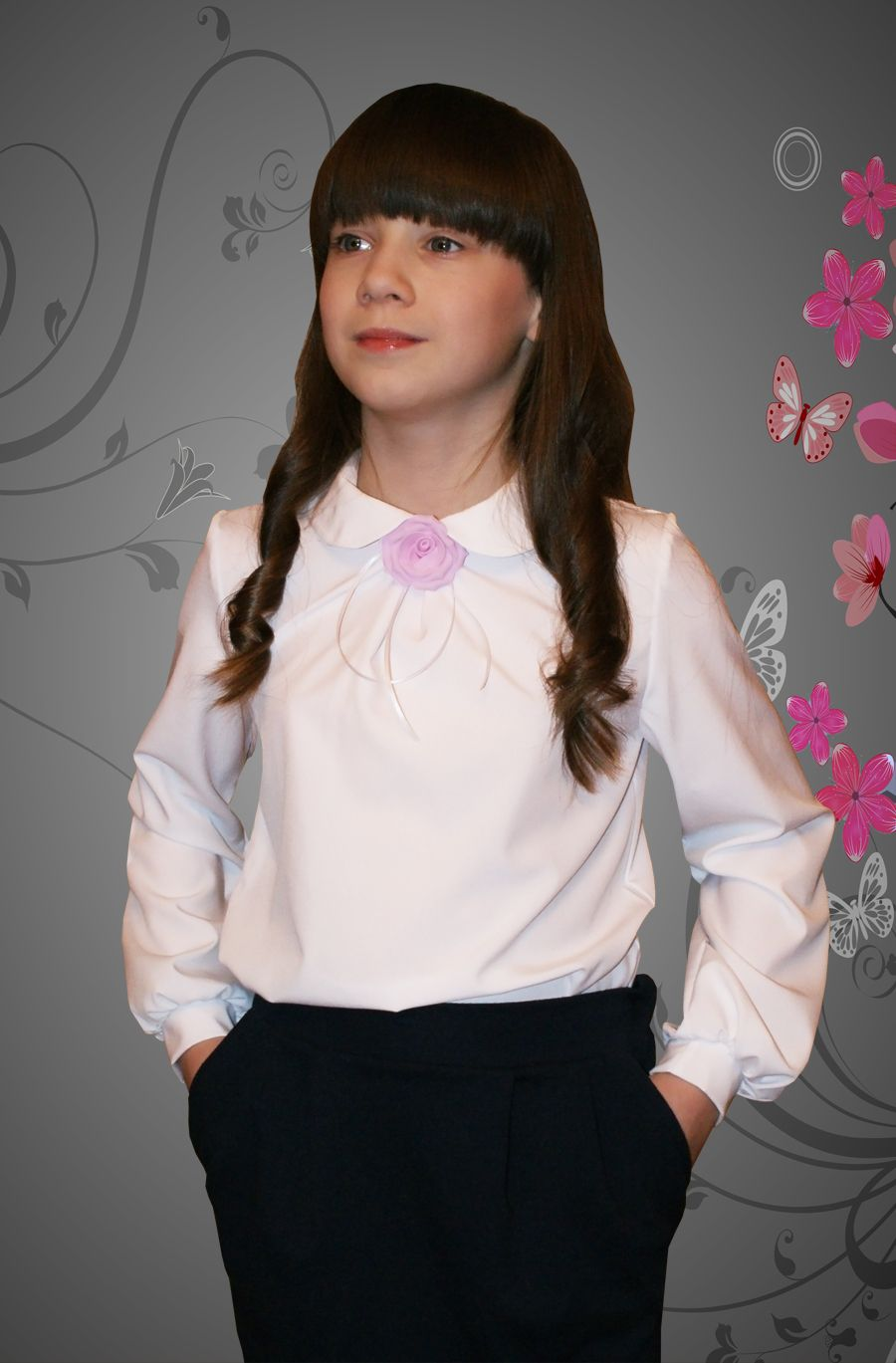 Сбор заказов-9. Нарядные школьные блузки и водолазки без рядов. Одежда для мальчиков.