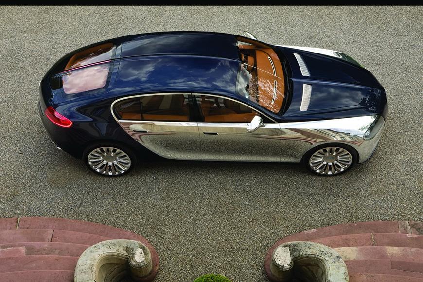 �������� Bugatti ������� � ������ ������ ��� ����� �������� �� �������� ���������� �������-������.