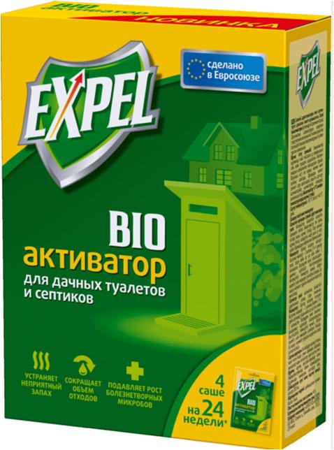 Сбор заказов. Bioактиваторы Expel, для дачных туалетов, септиков, выгребных ям, сокращающие отходы, а также препарат