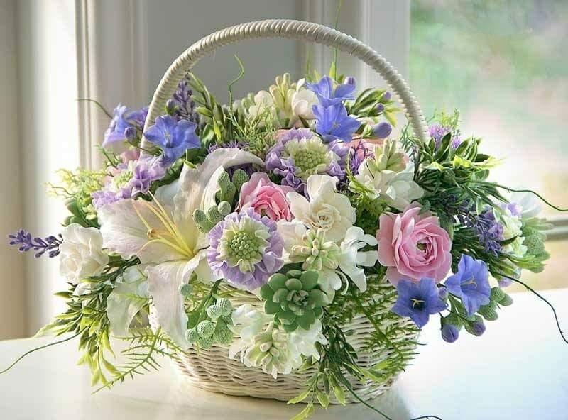Цветы радуют сердце и глаза женщин...