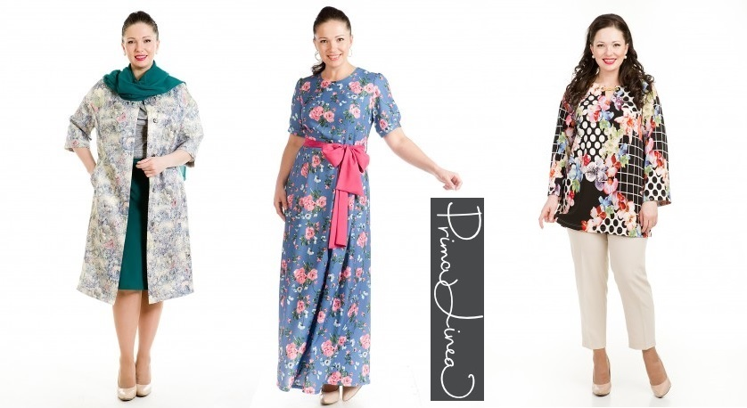 Prima Linea - женская одежда с 42-74 р-ра.Российский производитель.Высокое Качество!Есть распродажа и очень красивые летние пальто!