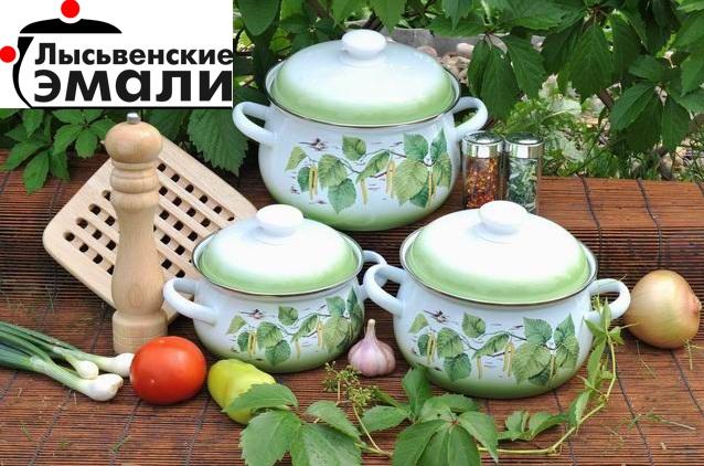 Сбор заказов. Эмалированная посуда для дома и дачи. Лысьвенский завод эмалированной посуды - 1.