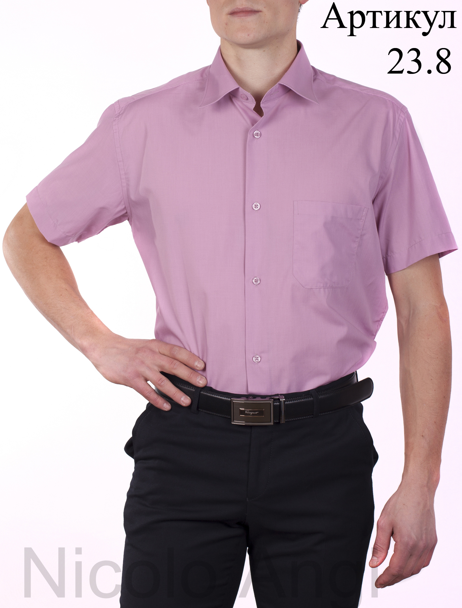 Мужские сорочки Nicolo Angi! Выкуп 5!